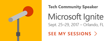Microsoft Ignite sessions