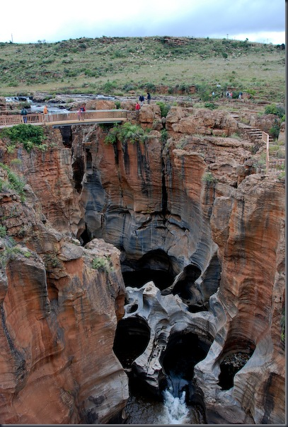 波克幸运壶穴Bourke Luck Potholes