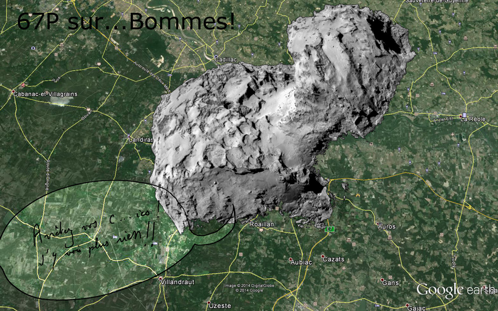 L'actualité de Rosetta - Page 3 67p_bommes