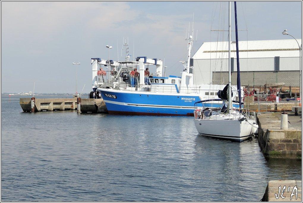 [Activité hors Marine des ports] LE CROISIC Port, Traict, Côte Sauvage... - Page 5 N-30%20chalutier%20Myosotis%20remis%20%C3%A0%20l%27eau%20S20V02562