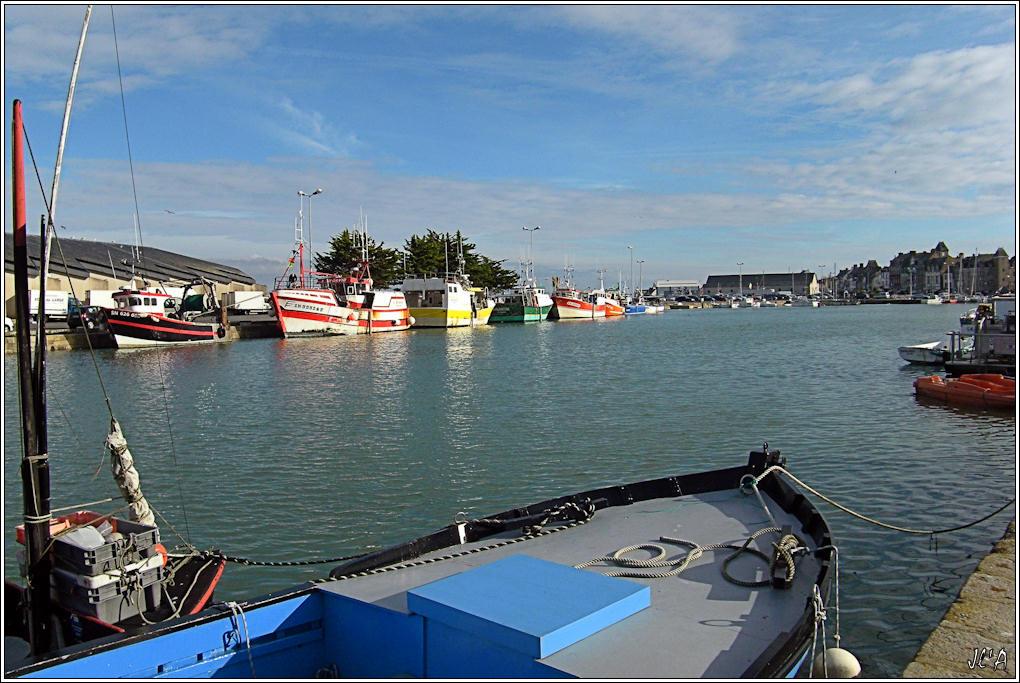 [Activité hors Marine des ports] LE CROISIC Port, Traict, Côte Sauvage... - Page 2 B04-G60013201%20Bateaux%20de%20p%C3%AAche%20%C3%A0%20mar%C3%A9e%20haute