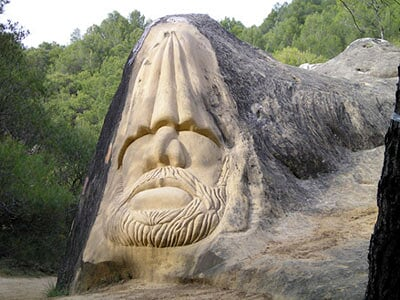 La Ruta de las Caras de Piedra (Cuenca) R-caras2