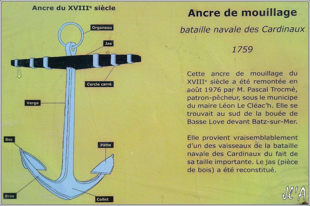 [Activité hors Marine des ports] LE CROISIC Port, Traict, Côte Sauvage... - Page 7 Sb35%2015-14%20descriptif%20Ancre%20bataille%20des%20Cardinaux%20en%201759%20G60015160