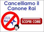 Cancelliamo il Canone Rai