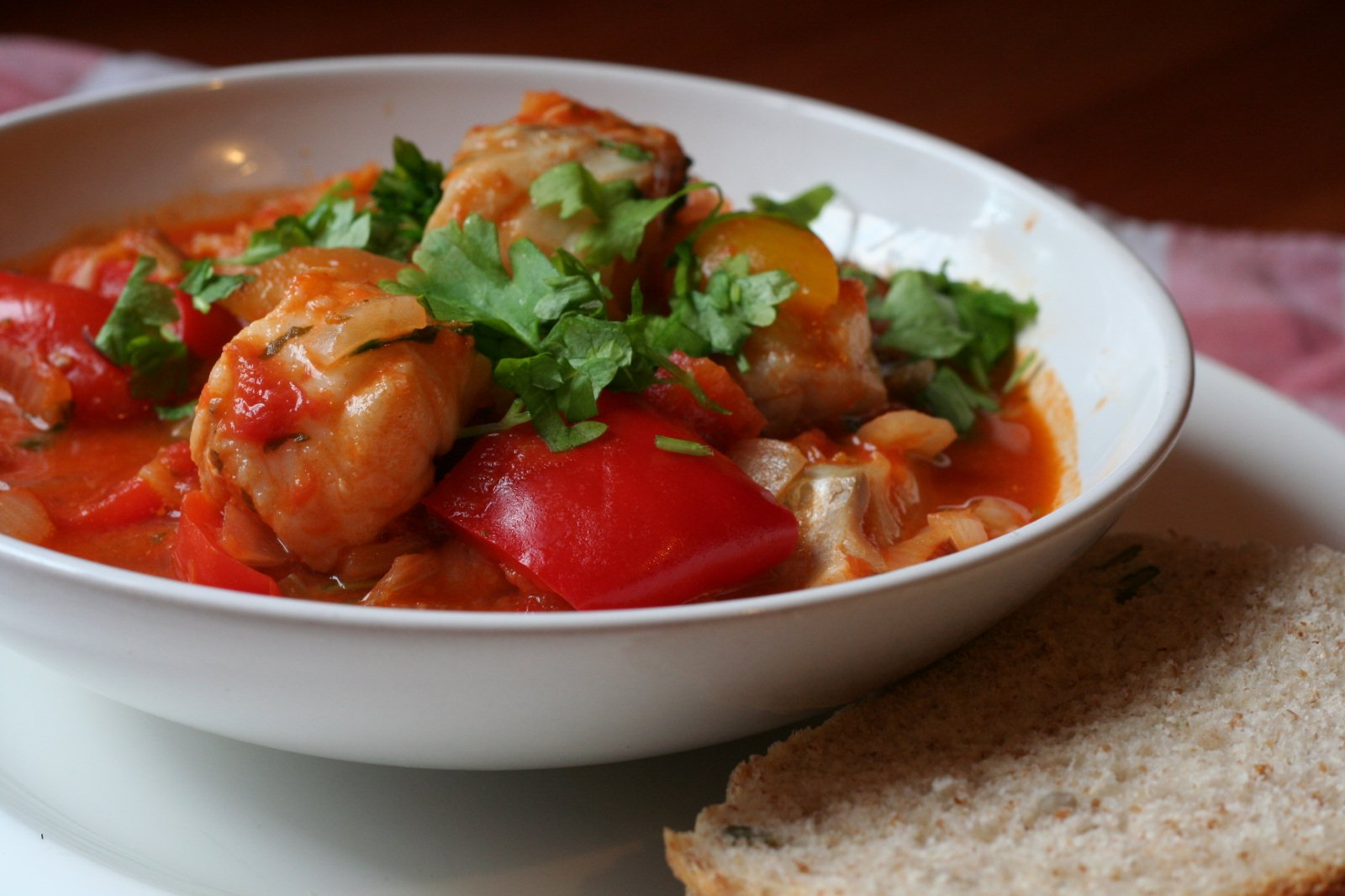 How to cook a fish stew