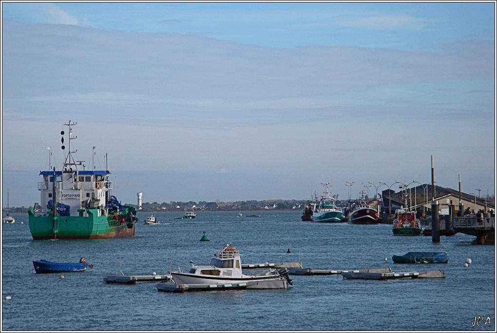 [Activité hors Marine des ports] LE CROISIC Port, Traict, Côte Sauvage... - Page 2 B09-G60013212%20retour%20de%20Fort%20Boyard%20estacade%20et%20cri%C3%A9e