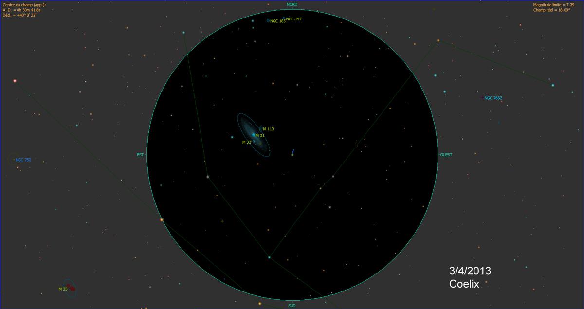 C/2011 L4 PANSTARRS Panstar_m31